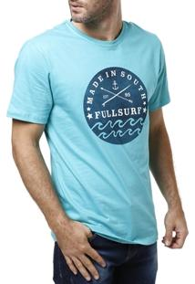 Camiseta Manga Curta Masculina Full Verde - Masculino