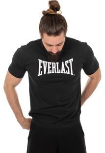 Camiseta Everlast Logotipia Preto