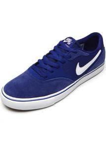 Tênis Nike Sb Paul Rodriguez 9 Vr Azul