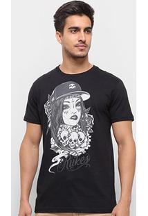 Camiseta Silk Lady Cap Rukes Masculina - Masculino