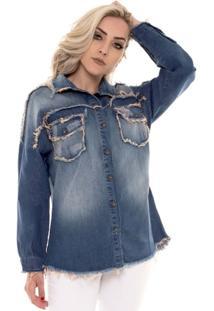 Camisa Manga Longa Osmoze Feminina - Feminino