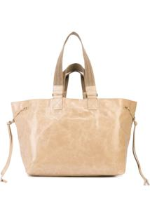 Isabel Marant Wardy Shopper Tote - Neutro