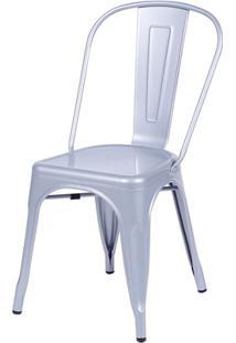 Cadeira Em Alumínio Tommy Cinza