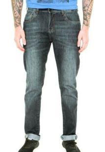 Calça Jeans Preston Hurley - Masculino-Preto