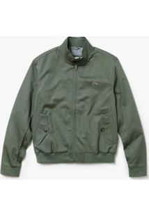 Jaqueta Lacoste Masculina - Masculino-Verde Militar
