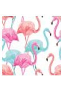 Papel De Parede Adesivo - Flamingos - 046Pps