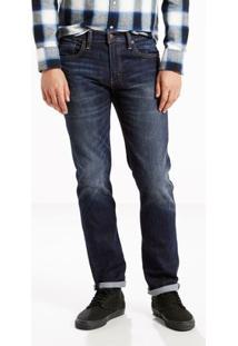 Calça Jeans Levi'S 511 Slim Masculina - Masculino-Azul