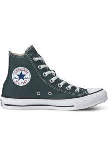 Tênis Converse All Star Chuck Taylor Seasonal Hi Verde Escuro Ct04190040 - Kanui