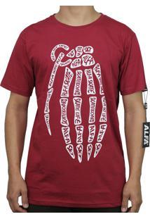 Camiseta Alfa Granada Bordo
