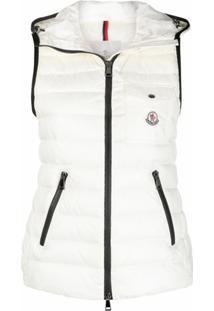 Moncler Glyco Padded Vest Jacket - Neutro