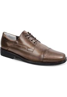 Sapato Social Masculino Derby Sandro Moscoloni Jackman Marrom
