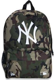Mochila New Era Basica New York Yankees Mlb Militar - Unissex
