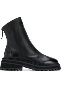 Marsèll Ankle Boot Com Plataforma - Preto