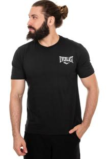 Camiseta Everlast Greatness Is Whithin Costas-Gg-Preto.