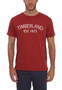 Camiseta Manga Curta Timberland Tape