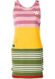 Marni Vestido Listrado - Estampado