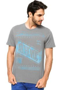 Camiseta Forum Logo Cinza