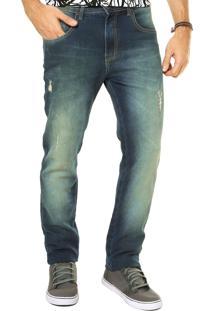 Calça Jeans Triton Skinny New Azul
