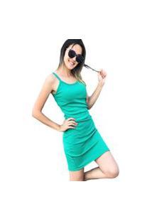 Vestido Tubinho D Bell Verde