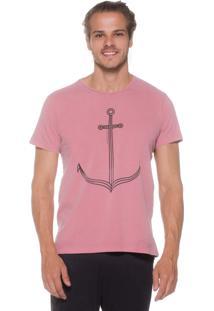 Camiseta Kahú Guardians Âncora Rosa