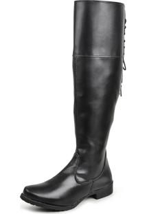 Bota Over The Knee Luma Ventura Linha Standard 001 Preto