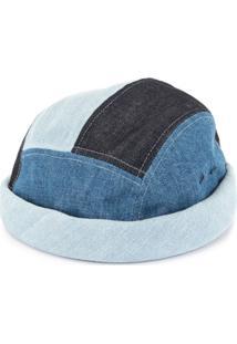 Beton Cire Gorro Com Patch - Azul