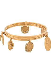Dolce & Gabbana Multiple Charms Bracelet - Dourado