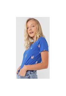 Camiseta Cantão Casitas Azul