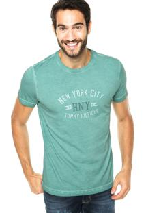 Camiseta Tommy Hilfiger New York Verde