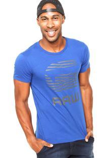 Camiseta G-Star Zebra Azul