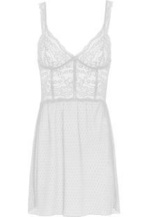 Camisola Curto At Night - Branco