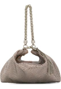 Jimmy Choo Callie Clutch - Neutro