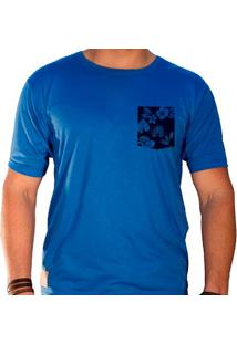 Camiseta Masculina Sandro Clothing Lee Azul