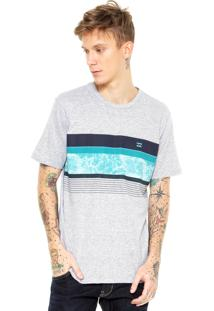 Camiseta Billabong Spinna Cinza
