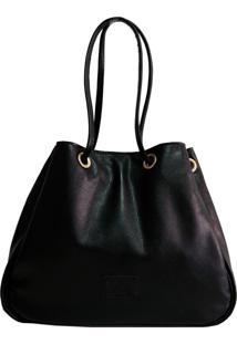 Bolsa Line Store Leather Sacola Preta Judd.