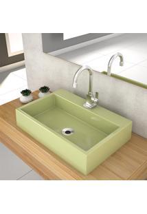 Cuba De Apoio P/Banheiro Compace Florenza Q550W Verde Acqua