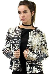 Blazer Minha Morena Rosa Plus Size Feminino - Feminino