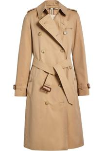 Burberry Trench Coat The Long Kensington - Neutro