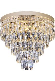 Plafon Florença 180W - Startec - Dourado
