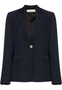 Golden Goose Blazer Com Abotoamento Simples - Azul