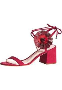 Sandálias Poppy Block Sandal Feminina - Feminino-Pink
