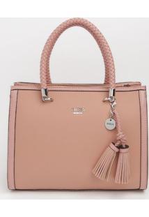 Bolsa Com Barbicachos - Rosa - 25X31X14Cmguess