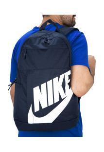Mochila Nike Elemental 2.0 - Azul Esc/Branco
