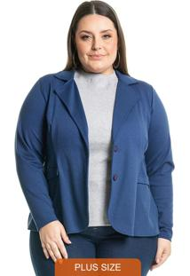 Blazer Clássico Azul