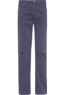 Calça Masculina Skinny Franca - Azul Marinho