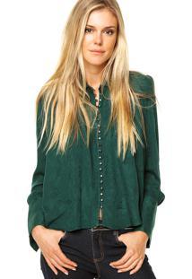 231c035006 Camisa Triton Verde feminina
