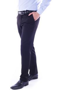 Calça 5528 Social Preto Traymon Modelagem Slim