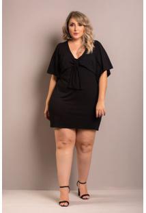 Vestido Iris Laço Black Plus Size