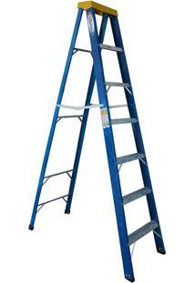 Escada De Fibra De Vidro Wbertolo Tesoura, 6 Degraus - Tafp7