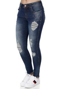 ff96df0b66 ... Calça Jeans Feminina Zune Azul